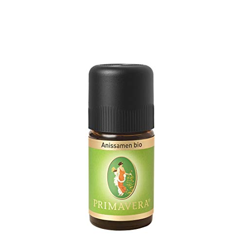 PRIMAVERA Ätherisches Öl Anissamen bio 5 ml - Aromaöl, Duftöl, Aromatherapie - entspannend, ausgleichend, beruhigend - vegan
