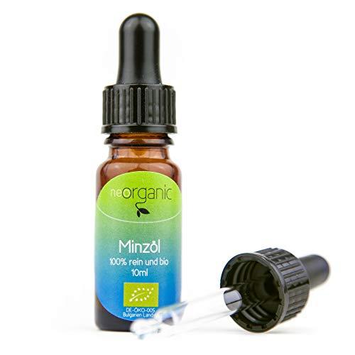 Bio-Minzöl (Mentha Arvensis) - Japanische Minze - 100% naturreines ätherisches BIO-ÖL – 10ml