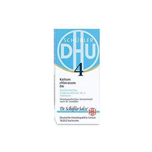 DHU Schüßler-Salz Nr. 4 Kalium chloratum D6 Tabletten, 80 St. Tabletten