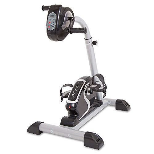 maxVitalis Bewegungstrainer | Arm- und Beintrainer | 2in1 mit Motor | Pedaltrainer mit...