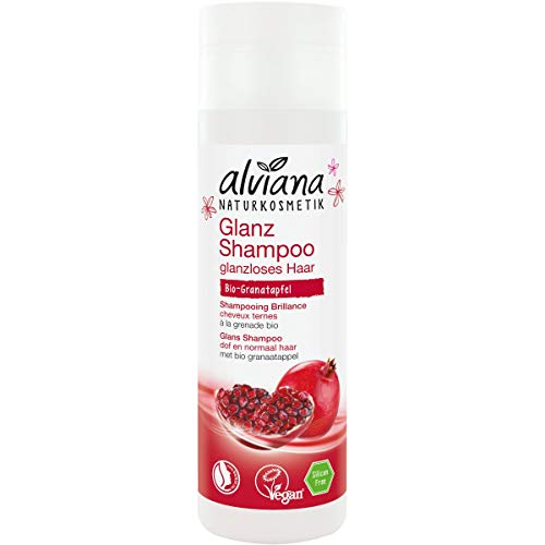 Alviana Naturkosmetik Glanz Shampoo Bio-Granatapfel, 200ml