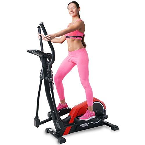 Miweba Sports Crosstrainer MC300 Stepper Ellipsentrainer Heimtrainer - App Steuerung - 21 Kg...