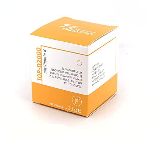 APOTHEKENPRODUKT Vitamin D-3 2000 IE + K