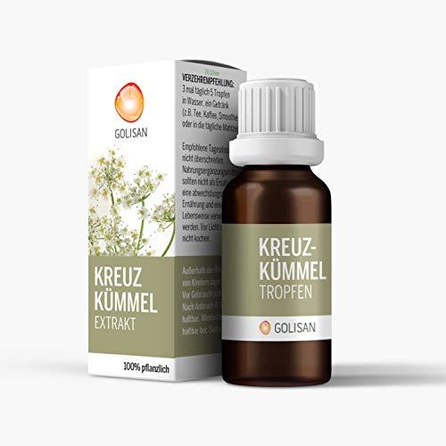 GOLISAN Premium Kreuzkümmel Extrakt • hochdosiert • Tropfen • 15ml