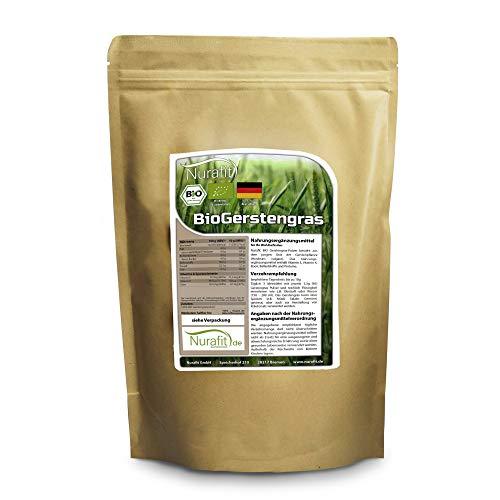 Nurafit BIO Gerstengras Pulver 1kg
