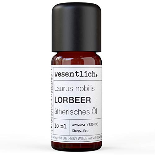 Lorbeerblätteröl - reines ätherisches Öl von wesentlich. - 100% naturrein aus der Glasflasche (10ml)