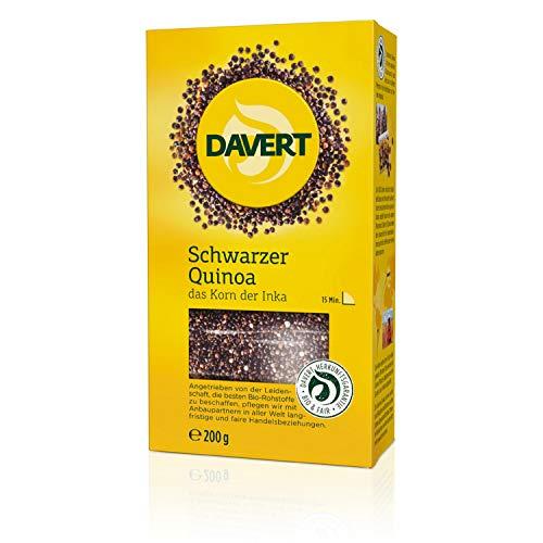 Schwarzer Quinoa von Davert vegan (1 x 200g) - Bio
