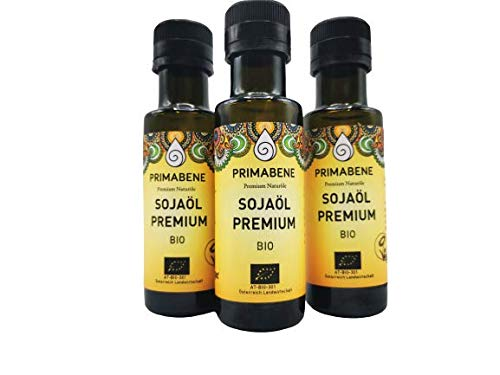 Soja Öl BIO, Primabene PREMIUM 100 ml