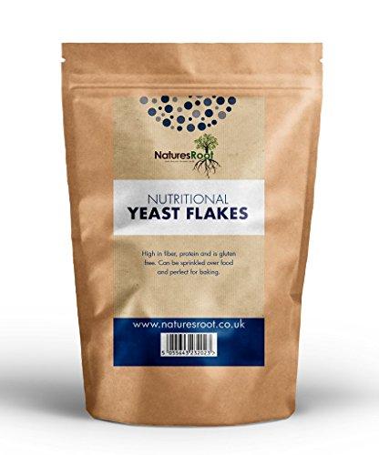 Natures Root Hefeflocken 500g - Vegan | Glutenfrei | Salzfrei | Vitaminreiche | Beste Verkostung