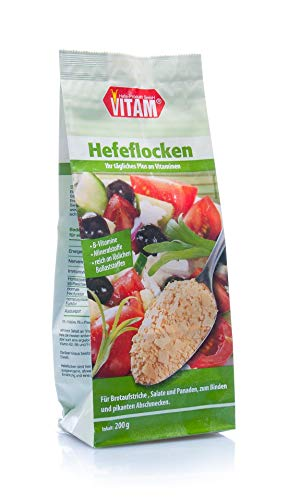 Hefeflocken salzfrei - natriumarm (200 g)
