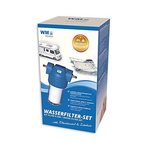 WM Wasserfilter fürs Wohnmobil Set