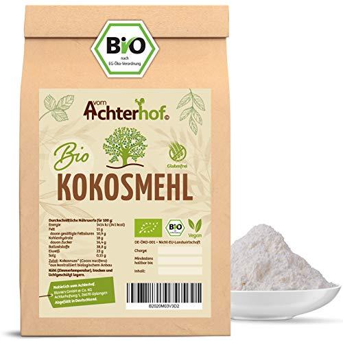 Bio Kokosmehl | 1000g | Low Carb Mehl | ballaststoffreich | reich an Proteinen | direkt vom Achterhof