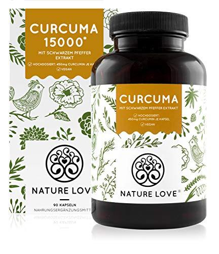 Curcuma Extrakt - Vergleichssieger 2020* - Curcumin Gehalt EINER Kapsel entspricht dem von ca....