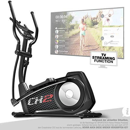 Sportstech CX2 Crosstrainer für Zuhause | mit Stromgenerator | Deutsches Qualitätsunternehmen |...