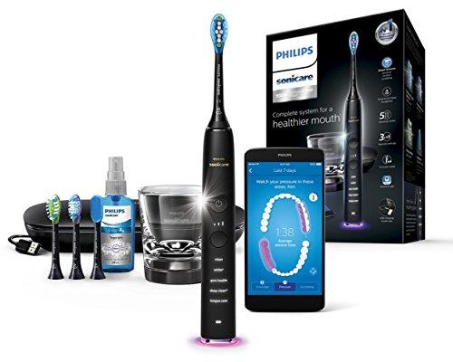 Philips HX9924/14 Elektrische Zahnbürste für Adult Ultraschall-Zahnbürste Schwarz - Elektrische...