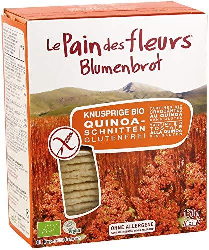 Blumenbrot Bio Knusprige Bio Quinoa-Schnitten (6 x 150 gr)