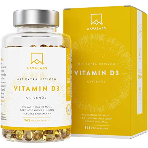 Aava Labs Vitamin D3 5000 IE Depot