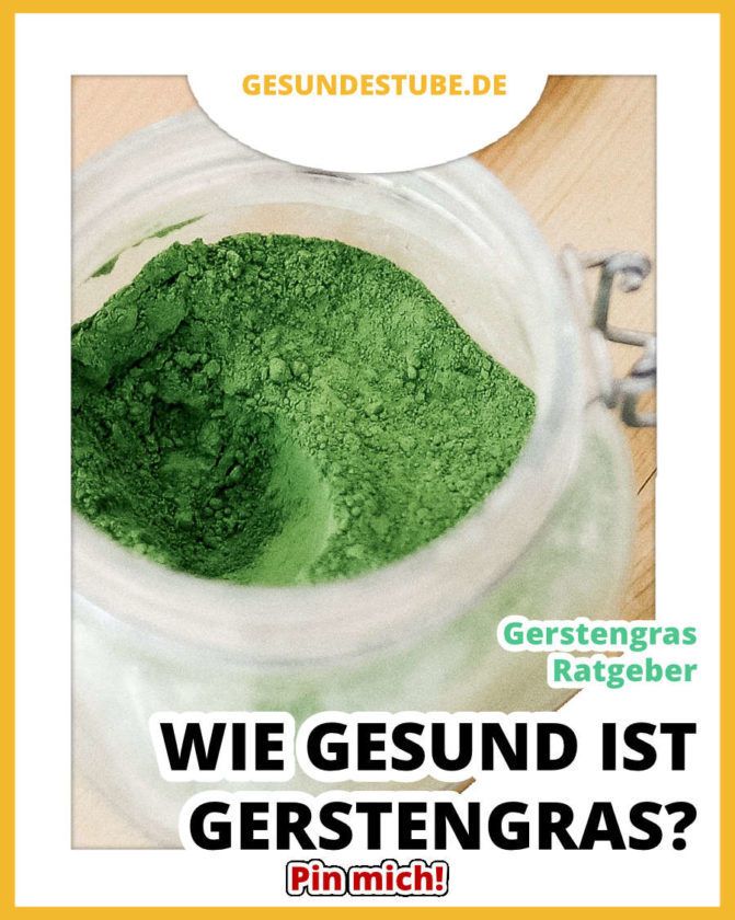 Gerstengras-Ratgeber • Ist Gerstengras gesund? Mehr auf Gesundestube.de