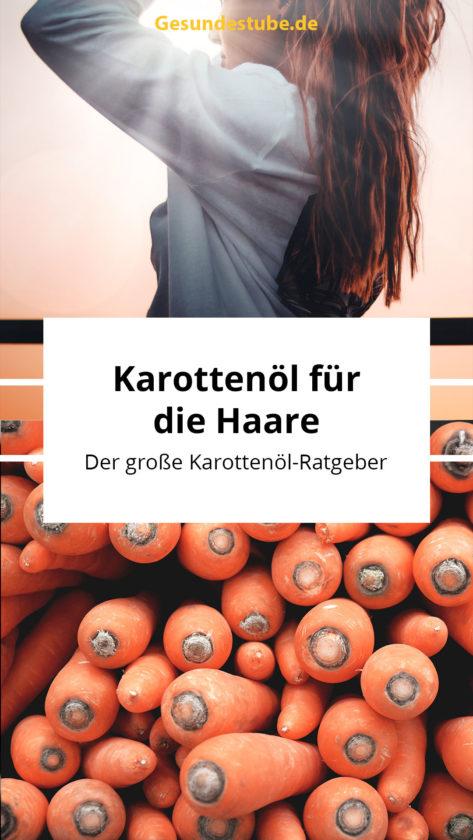Karottenöl für die Haare auf gesundestube.de