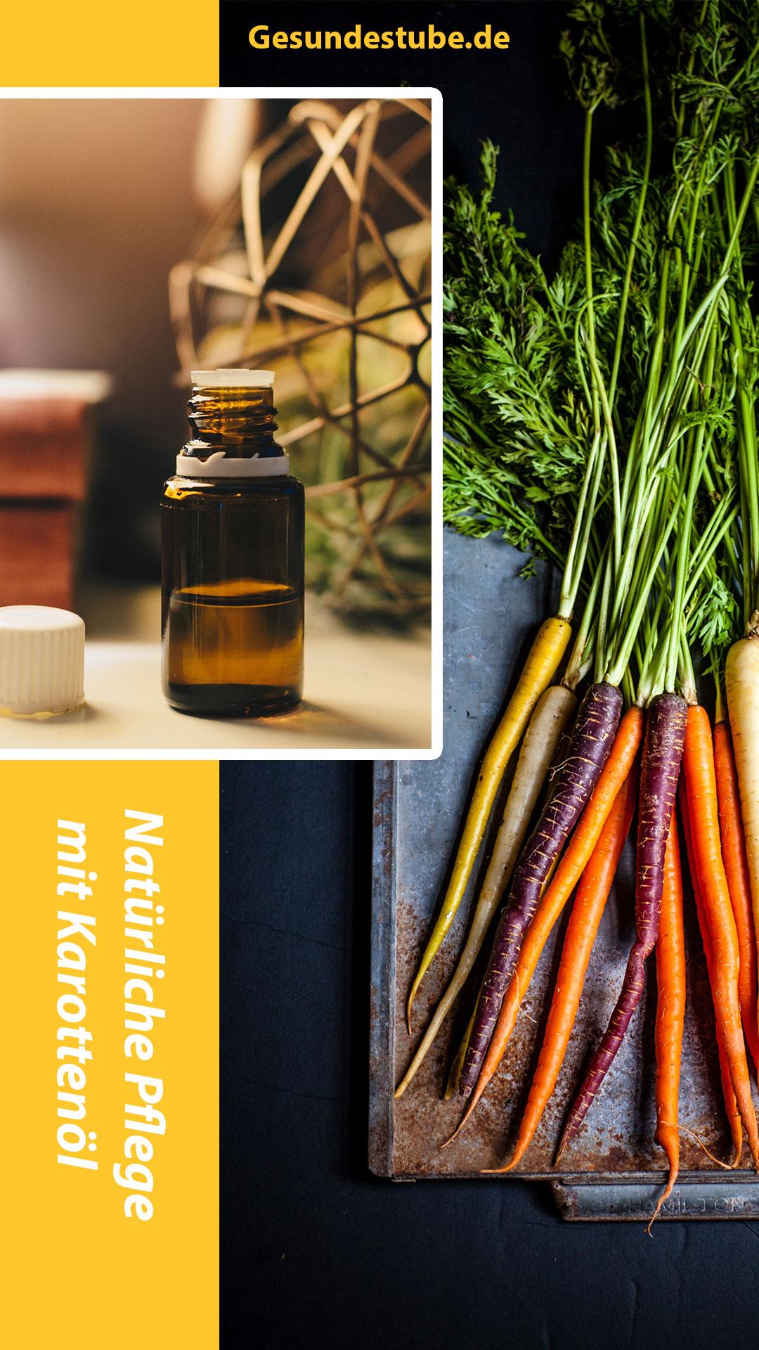Karottenöl natürliches Pflegeprodukt