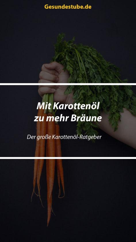 Mit Karottenöl zu mehr Bräune