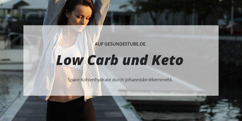 Spare Kohlenhydrate durch Johannisbrotkernmehl.