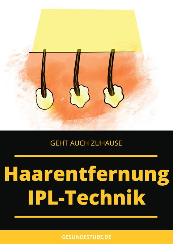 IPL Gerät zur Haarentfernung geht auch zuhause