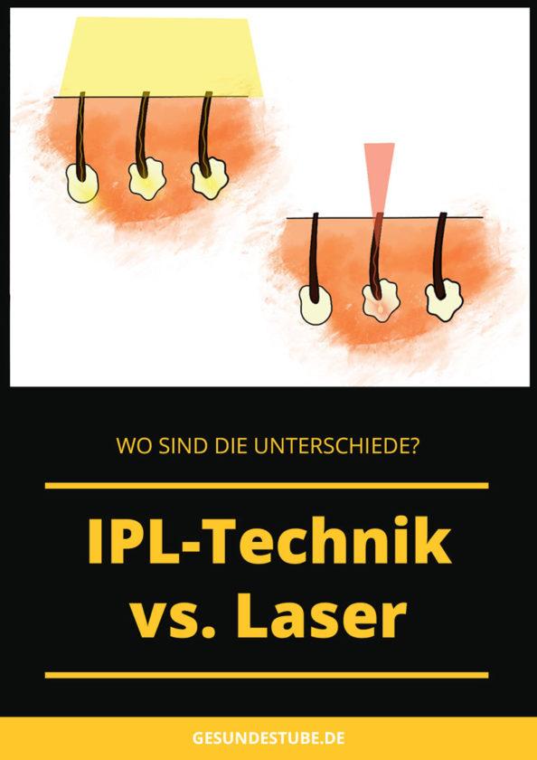 IPL vs Laser. Wo sind die Unterschiede?