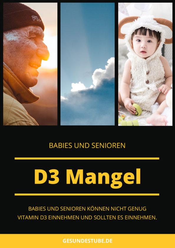 D3 Mangel bei Babies und Senioren