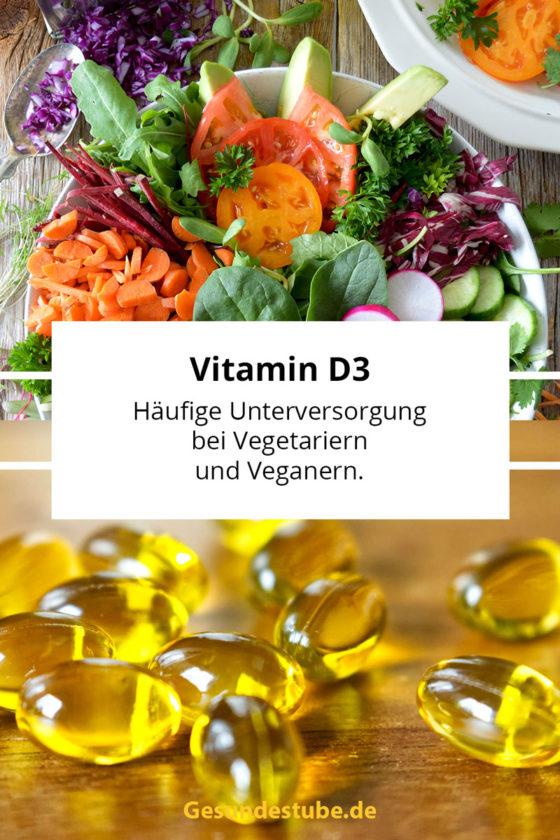 D3 Unterversorgung bei Vegetariern und Veganern