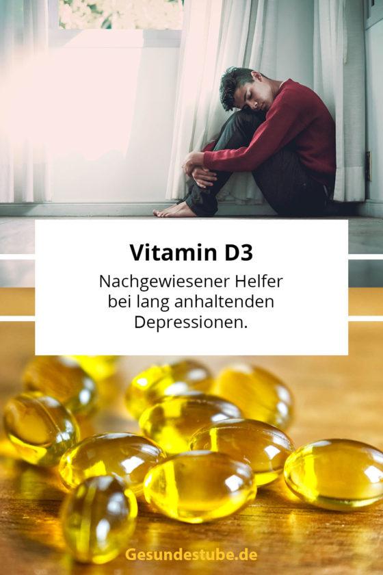 Vitamin D3 hilft bei Depressionen