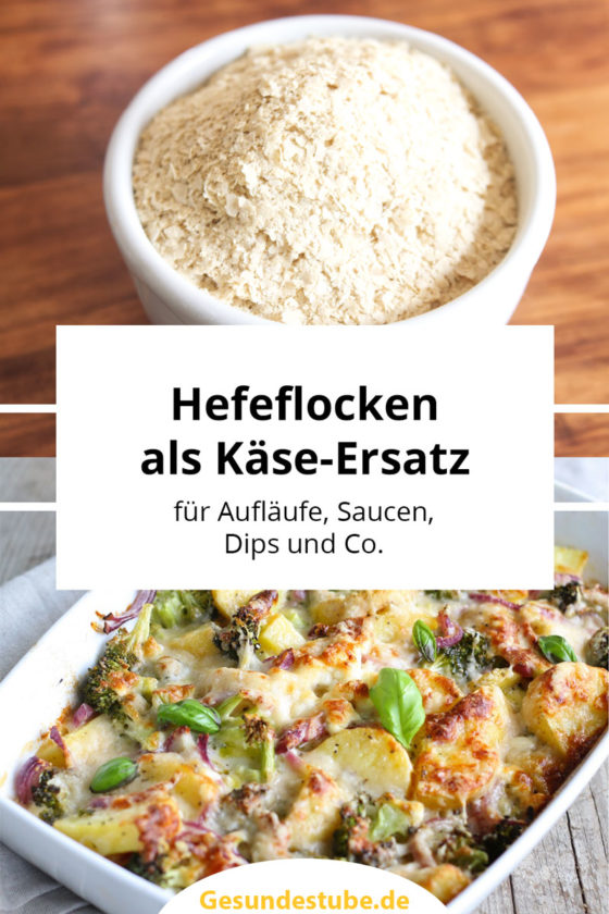 Hefeflocken als vegane Käse-Alternative
