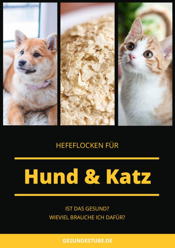 Hefeflocken für Hunde und Katzen