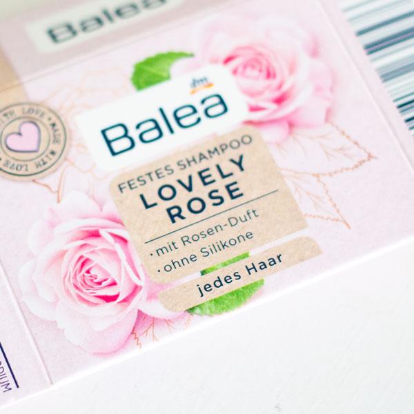 Festes Shampoo von Balea