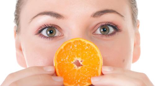 Vitamin C ist nicht nur von innen gesund, sondern auch als Kosmetik!